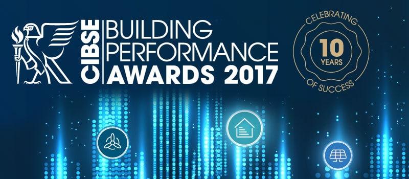 CIBSE Building Performance Awards 2017 shortlist announced