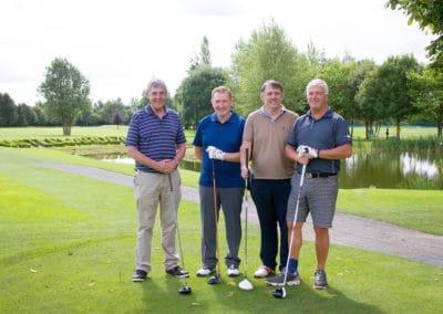 Gerry Darmody, Paul Reilly, Pat Murphy, Barry Steele (Jones Eng. Team)