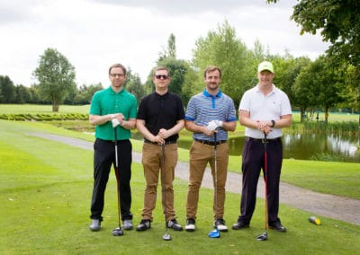Brian Hennessy, Jason O'Flynn, James Dempsey, Arjan Delaney (Stelrad)