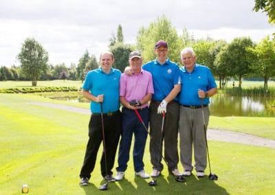 Stephen Dignam, Ollie Tutty, Martin O'Reilly, Terry Fitzgerald (Daveys)