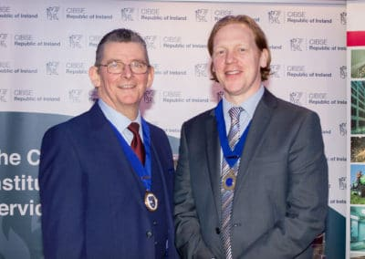 Kevin Kelly (DIT), Paul Martin (CIBSE)