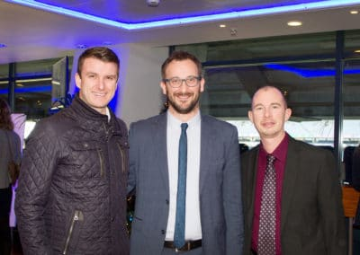 Adam Rogers (Ballrath Eng.), David Mooney (IWS), Daniel Hammersley (IWS)