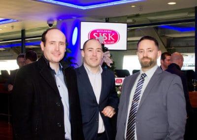 Niall Dowling (Flakt Group), Declan McCarthy (Flakt Group), Niall Donohoe (RPS)