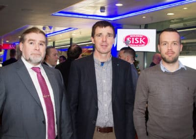 Damien Dennehy (SISK), Derek Brogan (SISK), Michael Bourke (SISK)