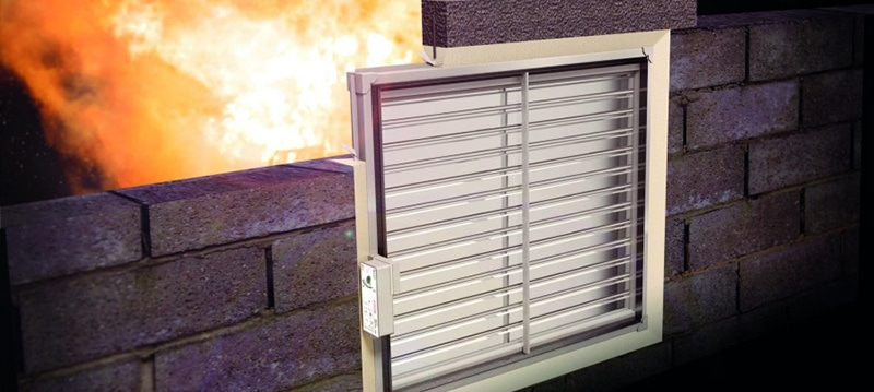 CPD – Fire rated dampers, damper installations and CE compliance