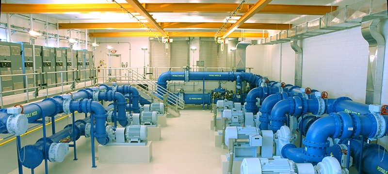 CPD Packaged Pumping Stations, Variable Speed Drives and Cold Water Boosting