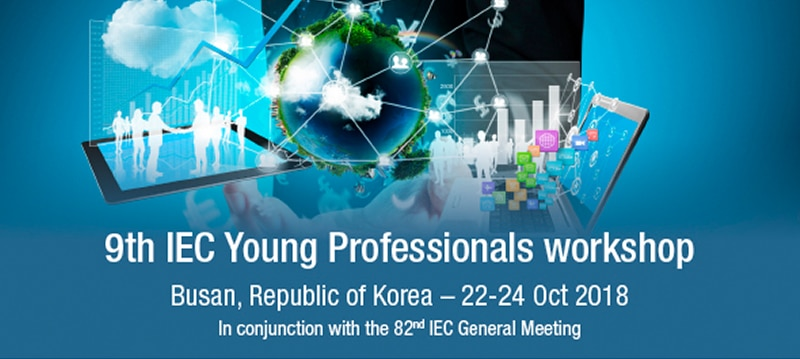 Want to Represent Ireland at the International Electrotechnical Young Professionals Workshop?
