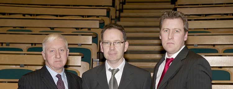 Dr.-Ben-Costelloe-Assistant-Head-of-School-of-Mechanical-Design-Eng.-Micheál-O'Flaherty-DIT-Speaker-David-Doherty-Vice-Chairman-CIBSE