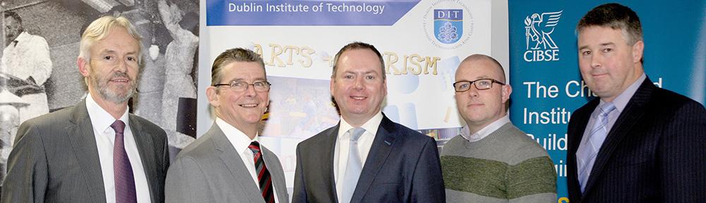 Pat-Lehane-CIBSE-BS-News-Kevin-Kelly-DIT-CIBSE-SLL-Brian-Motherway-SEAI-Keith-Sutherland-DIT-Sean-Dowd-CIBSE-Chairman